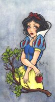 Snow White by BlueUndine