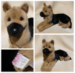 Douglas Cuddle Toys - Major German Shepherd by The-Toy-Chest