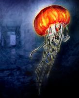 Asthetic Analogy- Jellyfish by Lillithia