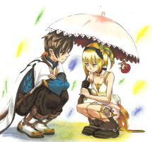 ToZ:Don't be alone,silly by ClaireRoses