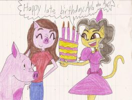 A late bday gift for Ayla aka Ay6 by Magic-Kristina-KW