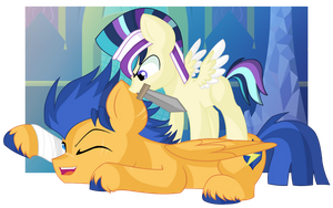 Playtime with Daddy by Cheschire-Kaat