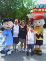 more single serving friends @ Planet Snoopy by MothraLeo