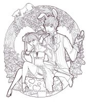 All the Time in Wonderland L-A by Lendra-chan