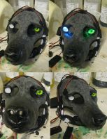 Custom 2014 wolf blank! by Crystumes