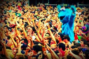 Cookie Monster MOSH IT UP! by zombis-cannibal