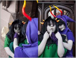 Homestuck: Silenced by CosplayerWithCamera