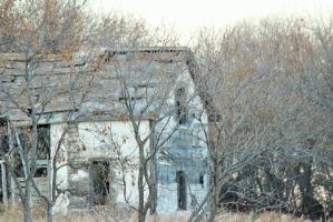 Old Abandoned House 2 by kaitykat99
