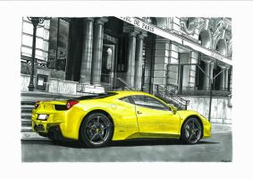458 Italia in Monaco by przemus