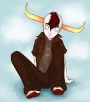 Tavros: Be Dead - Homestuck FA by GingerSnake