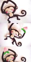 monkey love...PEACH by aiwa-9