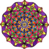 Geometricity Mandala 16Aug12 by Artwyrd
