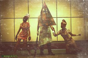 Chongbit goes to Hobcon 2012 (silent hill) by chongbit
