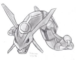 Rayquaza by DrChrisman