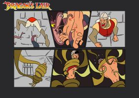 Commission: Dirk Daring Game Over Part 2 of 4 by KingRiek