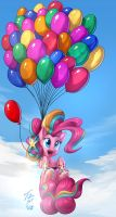Rainbow Pinkie_Collab by Tsitra360
