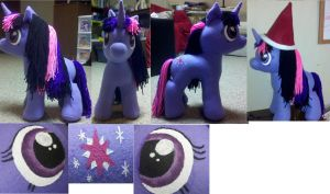 Twilight Sparkle Plush by mousenet