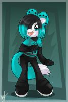 Commish for pixelated-rain by luna777