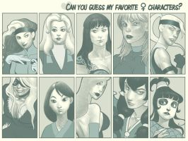 Favourite ladies from 90s by zumart