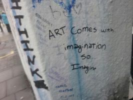 Abbey Road: What I wrote on the wall by XRadioactive-FrizzX