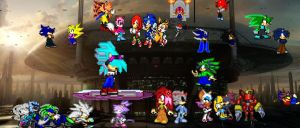sonic riders season2 by 100hypersonic