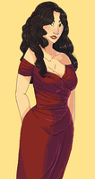 red dresses and rambling backstories (lot of text) by Random-Artist-1