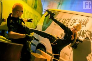 Suck it, Wesker! by F-elicia