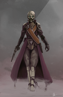 Destiny: Female Exo Warlock by I-am-knot