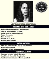 Laurie Strode's FBI File by ChrisSTC