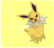 Cuddly Jolteon by Rmage76