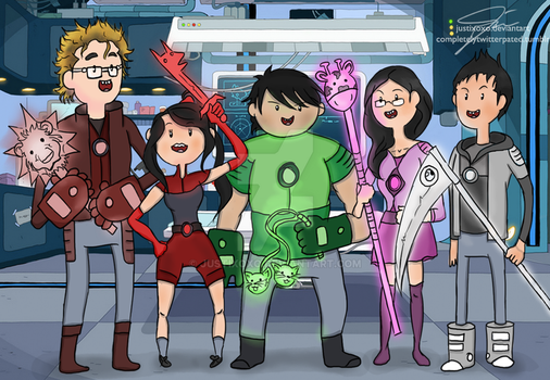 We're the Bravest Warriors! 2/2 by justixoxo