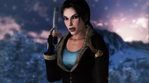 Lara_Croft_Tibet by ivedada