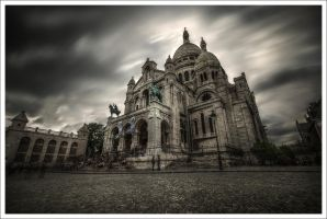 Montmartre at this time. by Graphylight