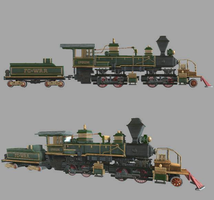 Florence Cantonville W. Railroad - #27 ''Ipsum'' by theIronHorse319