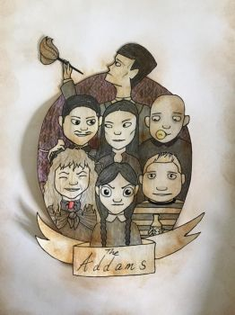 The Addams (I'm not dead!) by Tinetheeviltwin