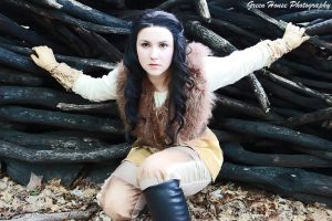Bandit Snow White by moonflower-lights
