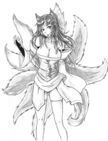 Ahri by freezeex
