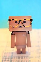 Danbo is a Nerd by Cute-And-Bright