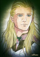 Legolas for Tonny by Neldorwen