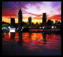 Pudong Bund by ShanghaiBoo