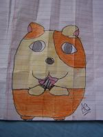 Hamtaro The Hamster by 9-AmBeR-6