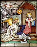 Annunciation stained glass by ImaginedGlass