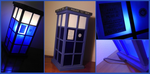 TARDIS lamp by Busoni