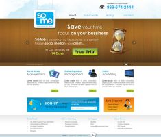 SOME - Social Media Site by Areeb89