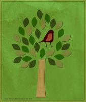 Another Tree Another Bird by surlana