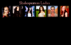 Shakespeare's Leading Ladies WIP by FalseDisposition