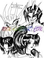 Jade's Demon Family by alaer