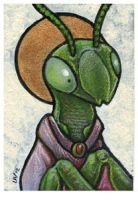 St. Mantid ACEO by ursulav