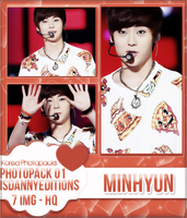Minhyun (NU'EST) - PHOTOPACK#01 by JeffvinyTwilight