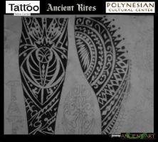 polynesian tattoo design by inkwork27